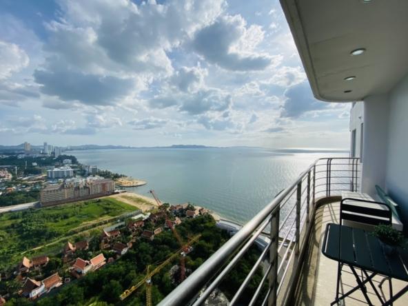 la royale pattaya condo high floor for sale