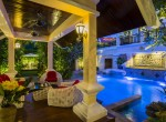 3. Garden Pool Salar Nighttime