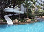Pool Jungle slide