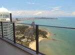 View from balcony to Pattaya