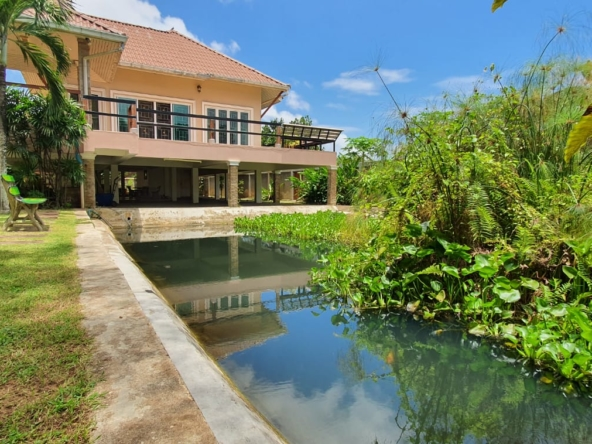 house big land fish pond near phoenix golf course